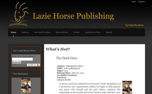 Lazie Horse Publishing Website