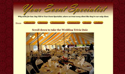 Your Event Specialist Website